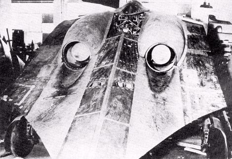 Horten - rear view